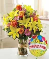 California Dreaming - Congratulations Flowers