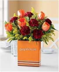 Simple Charm - Congratulations Flowers