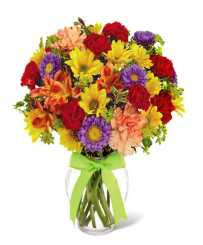 Happy Day - Get Well Flowers